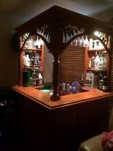Solid Timber Bar with Downlights Bligh Park Hawkesbury Area Preview