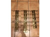 Brass Door Handles (12 pairs)