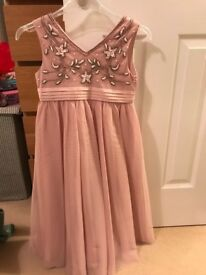 Stunning occasion dress - never worn age 9