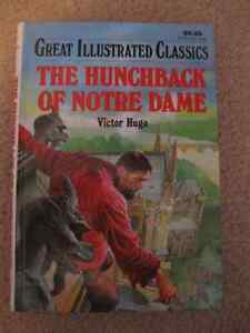 LARGE PRINT - THE HUNCHBACK OF NOTRE DAME ... HARDCOVER