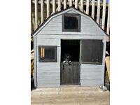 2 Storey Wooden Dutch Barn Playhouse