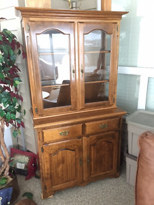 Apartment size china cabinet