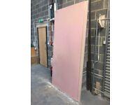 Fire resistant plasterboard - reclaimed