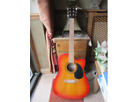 ENCORE ELECTRO-ACOUSTIC GUITAR.