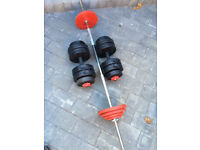Dumbells and Barbell