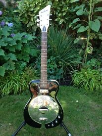EASTWOOD AIRLINE FOLKSTAR RESONATOR ELECTRIC GUITAR