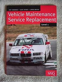 Vehicle maintenance service replacement
