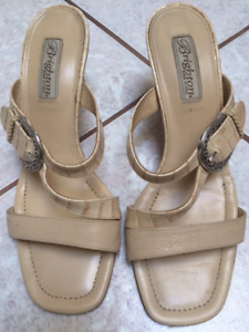 Brighton Size 9 Leather Sandal - Made in Italy