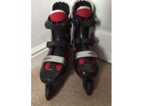 Bauer Size 8 Inline Skates