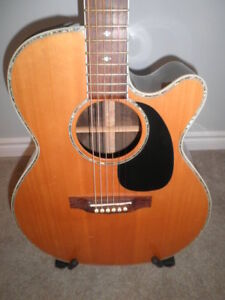 Takamine Acoustic-Electric Guitar...