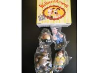 Wallace & Gromit collectable figures.
