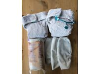 Cloth nappies bundle (13 totbots + 5 motherease wraps + liners) - £15 or near offer