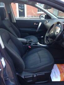2010 nissan qashqui +2 seven seater excellent condition
