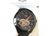 Rotary LIMITED EDITION Kinetic - Rose Gold Hands and Details