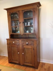 Antique Pine Hutch
