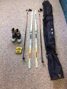 Cross Country Skate Ski Package asking $425.00