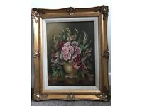 Maeve Somerset oill on board signed framed Painting