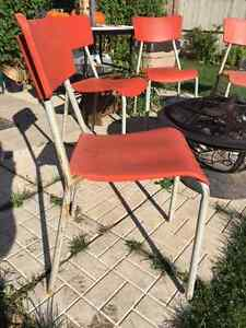 Matching Outdoor Chairs Cambridge Kitchener Area image 3