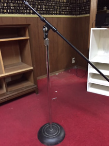 VRG Chrome Atlas Sound PP-3610 Microphone Stand with extension
