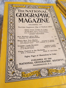 Collectors 1953+ National Geographic Magazines