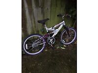 Girl's Bike, needs some TLC, in fair condition.