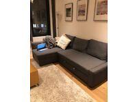 IKEA FRIHETEN Sectional Sofa converts in to sofa bed