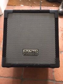 DJ-Tech Cube 50 PA System with wired and wireless mics