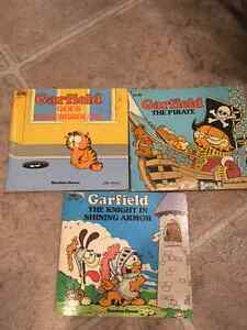 Collection of 3 Garfield Books 1982 Random House