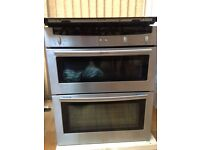 NEFF Stainless Steel Integrated double oven with grill