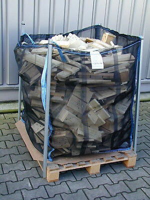 5 Big-Bags,Holz-Bags,100X100X120 cm,Brennholz,Holz, Art.3831, flacher Boden