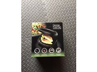 BRAND NEW: George Foreman 18840 Two Portion Compact Grill - Black