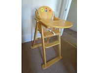 Wooden Folding - Highchair