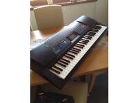 Casio Keyboard CTK 511 model... as new...MIDI input/output