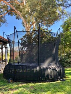 Vuly Thunder XL trampoline with new wheels pick up Mosman