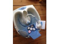 Champneys Oasis Foot Spa Bath - as new (used once)