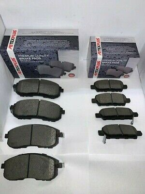 Front and Rear Brake Pads Fits Nissan Juke 2010-2019