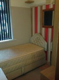 small furnished bedroom all bills wi fi internet included.
