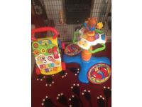 Electronic Baby walker and (sit & stand) 3 in 1 Dancing Tower