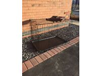 92cm Dog Crate & Cover