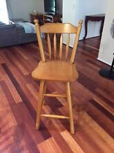 6 x Solid Timber Bar Stools Gumdale Brisbane South East Preview