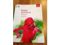 Violin Exam Pieces ABRSM Grade 2 book and CD (2016-2019 syllabus)