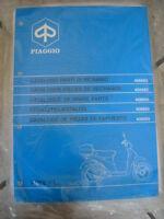 406660 Catalogo Parti Di Ricambio Piaggio ,fee, Fl -  - ebay.it