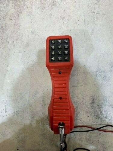 Harris TS19 Telephone Test Set Lineman Line Tester Butt Set