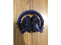 WESC high-tech adjustable head phones.