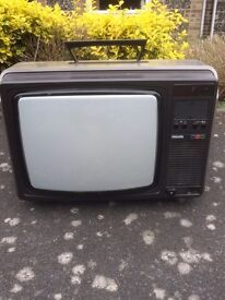 Philips CRT TV with remote
