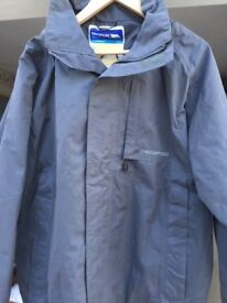 Trespass shower proof coat with film related logo