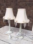 Bedside Lamps - Shabby chic style Ourimbah Wyong Area Preview