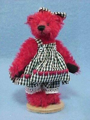 Deb Canham - Ruby Red - From The Have a Heart Coll - LE #87 -  Mint - New