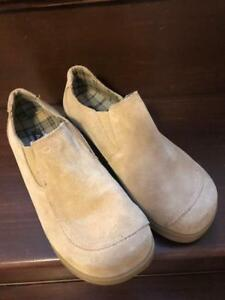 Women's size 7 Light Brown Suede Shoes
