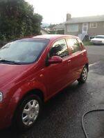 2004 Chevrolet Aveo Hatchback - LOW KMS